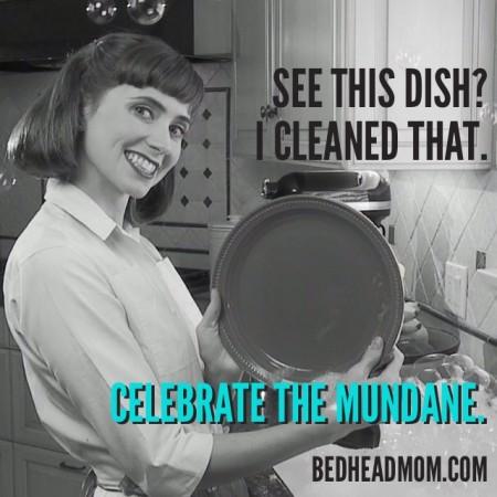 Celebrate the Mundane