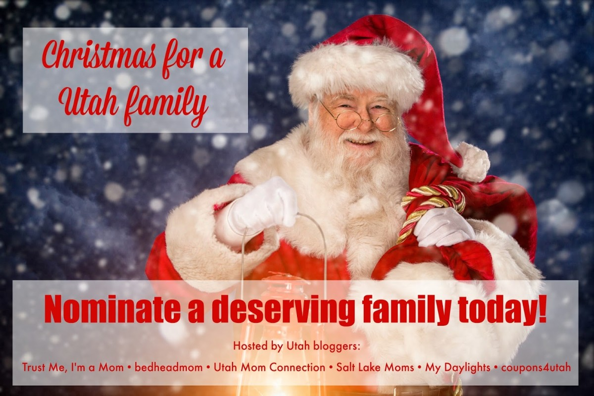 Christmas For a Utah Family 2015 hosted by bloggers